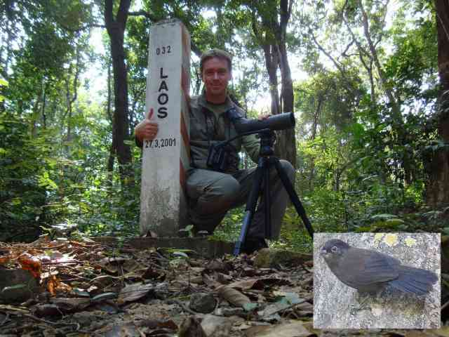 Birding in Laos with Birding2asia.