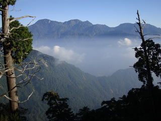 Anmashan mountain scenery